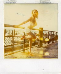 img976 (instant satisfaction) Tags: nyc newyorkcity newyork polaroid sx70 model expired redshoes tz timezero expiredfilm anastasiya boatbasincafe sx70original terentyeva anastasiyaterentyeva