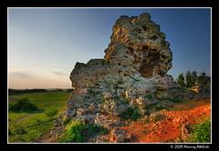 old rock (Mariusz Petelicki) Tags: hdr 3xp bolęcin mariuszpetelicki skałkatriasowa triassicrock