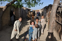 Swati children in Golra, Islamabad