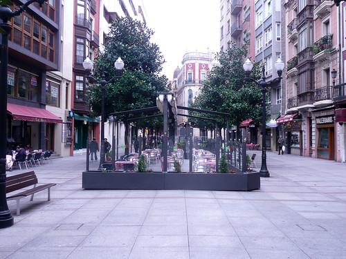 Calles de Gijón Foto