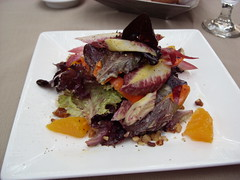 Roasted Carrot & Endive Salad