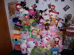 Wall Of Plushies ( Veronica ) Tags: plush sanrio plushies sanx