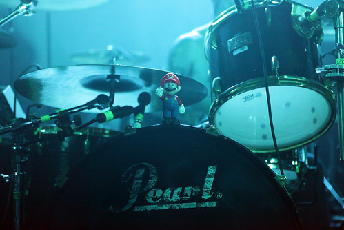 Mario supporting Hollywood Undead