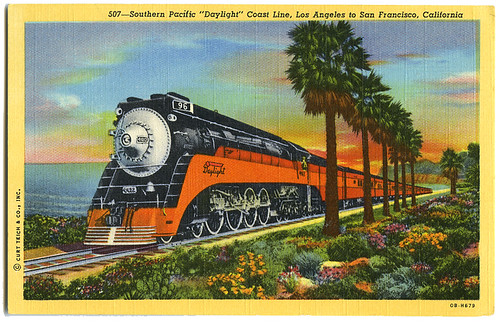 Southern Pacific Daylight Coast Line_tatteredandlost