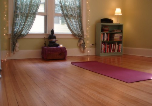 beauty that moves: our new yoga room
