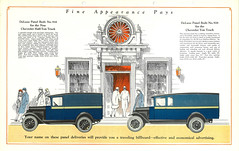 Panel truck ad, 1928 (Seattle Municipal Archives) Tags: 1920s cars chevrolet marketing vehicles chevy trucks advertisements automobiles catalogs seattlemunicipalarchives