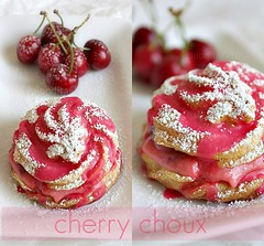 cherry choux collage