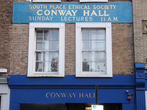 Conway Hall. By Ewan Munro