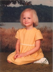 Erica Yellow Dress 1983
