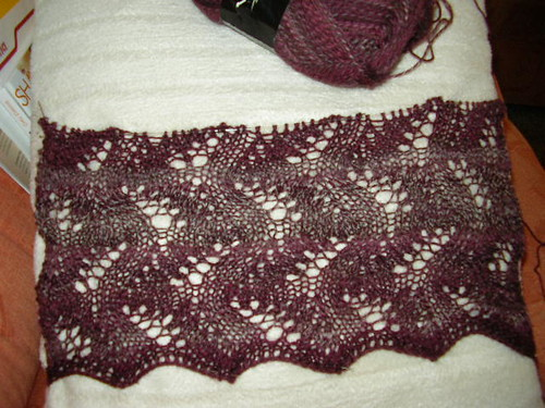 Luscious Lace Scarf,Anfang