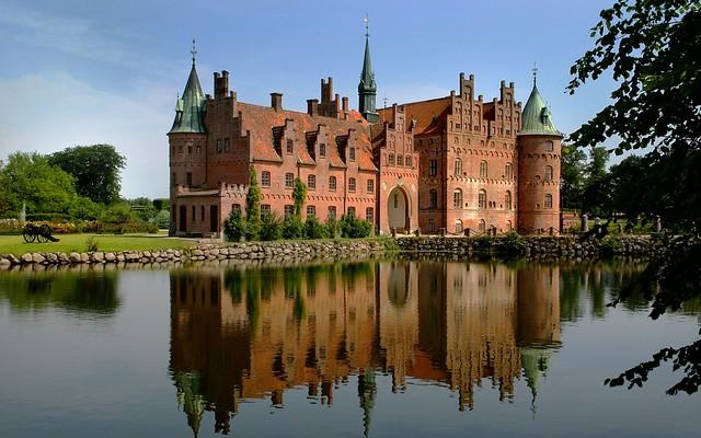 Castillo de agua en Dinamarca