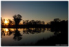 The Best Way To Predict The Future Is To Invent It (Sam Ilić) Tags: blue sunset sky sun color reflection tree water silhouette canon pond australia symmetry canberra explored 450d canberrasunset redbubble canon24105mm4