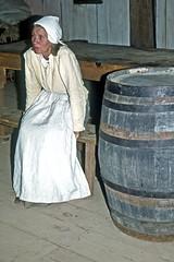 Plimoth Plantation Pilgrim Woman