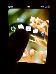 UI trick Palm Pre