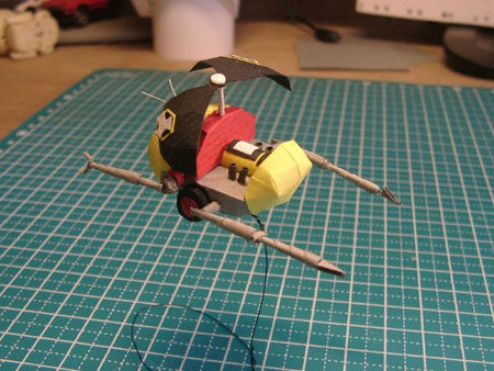 Firefly-Copter Papercraft