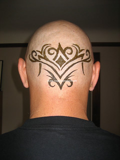 Tribal cranial piece