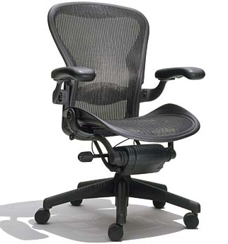 aeron chair, task chair revolution again