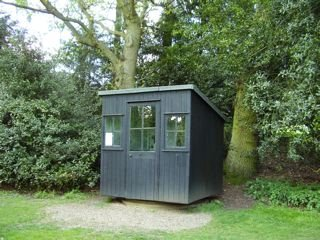 george bernard shaw's shed office at shedworking blog