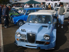 Road Cars - Wolseley Hornet - Blue - Castle Combe - 020830 - Steven Gray - Image9