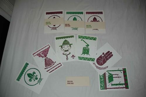 scout lino print set