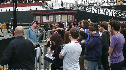06.17 the Teenagers @ South Street Seaport (14)