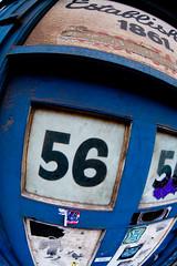 manchester_20june2009_2575 (patrick h. lauke) Tags: door streetart manchester sticker fisheye zenitar 56 zenitarfisheye zenitar16mmf28 established1861