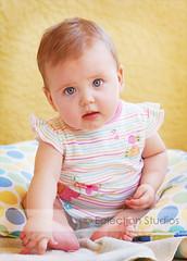 Baby K (Lauren Flores Photography) Tags: light baby 50mm twins nikon infant babies natural f18 fraternal 6monthsold bokoeh carterandkatelynn