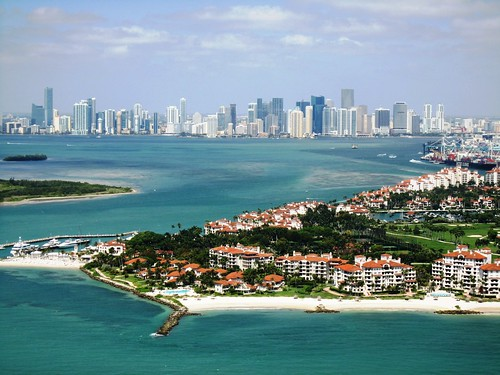 Miami & Fisher Island from 500ft by Mohd Althani, on Flickr