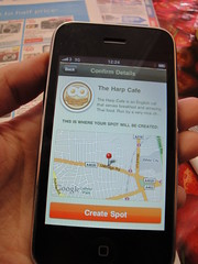 Creating my spot on Gowalla by rhea o