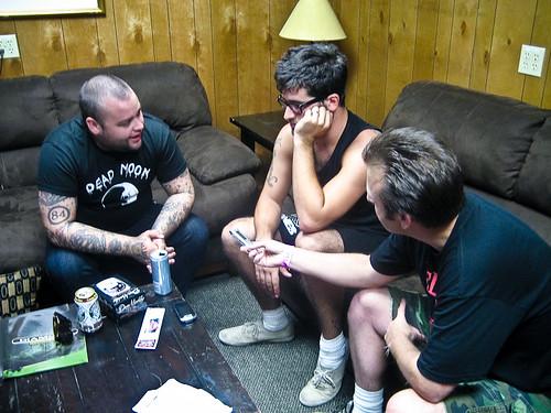 Alexisonfire @ Warped Tour 2009