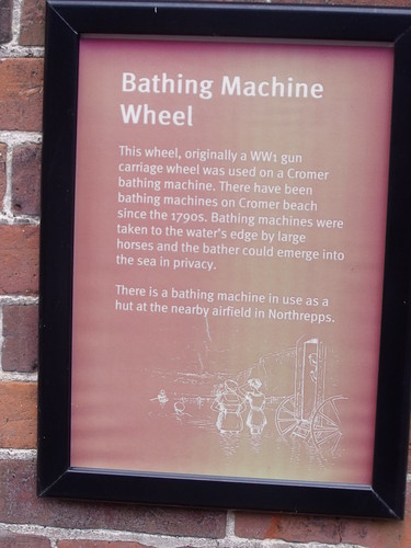Cromer Museum - Bathing Machine Wheel