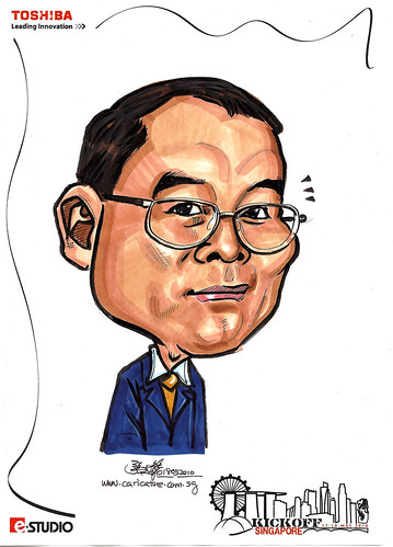 Caricature of Guonawan