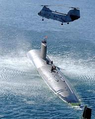 Boeing-Vertol : CH-46 : Sea Knight (San Diego Air & Space Museum Archives) Tags: usa training aviation submarine guam aeronautics ch46seaknight apraharbor sdasm