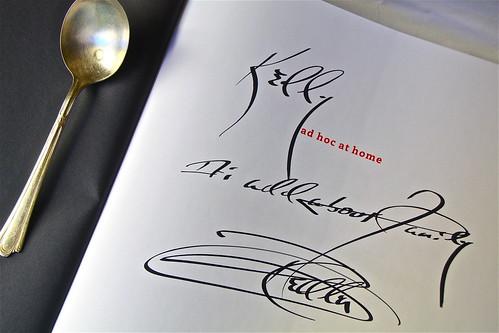133/365:  Autograph