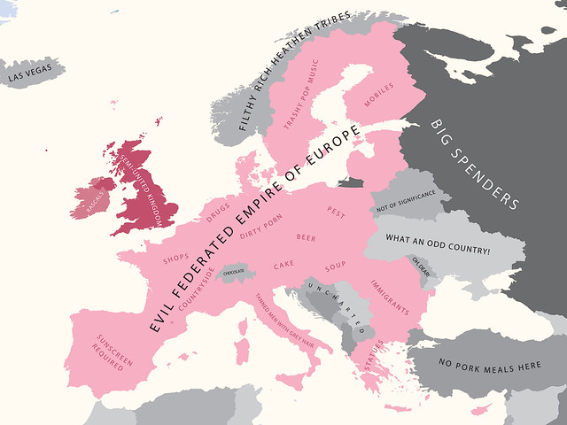Europe According to Britain