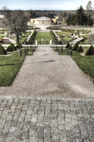Uppsala. Jardín botánico