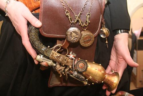 Handmade Steampunk Pistol