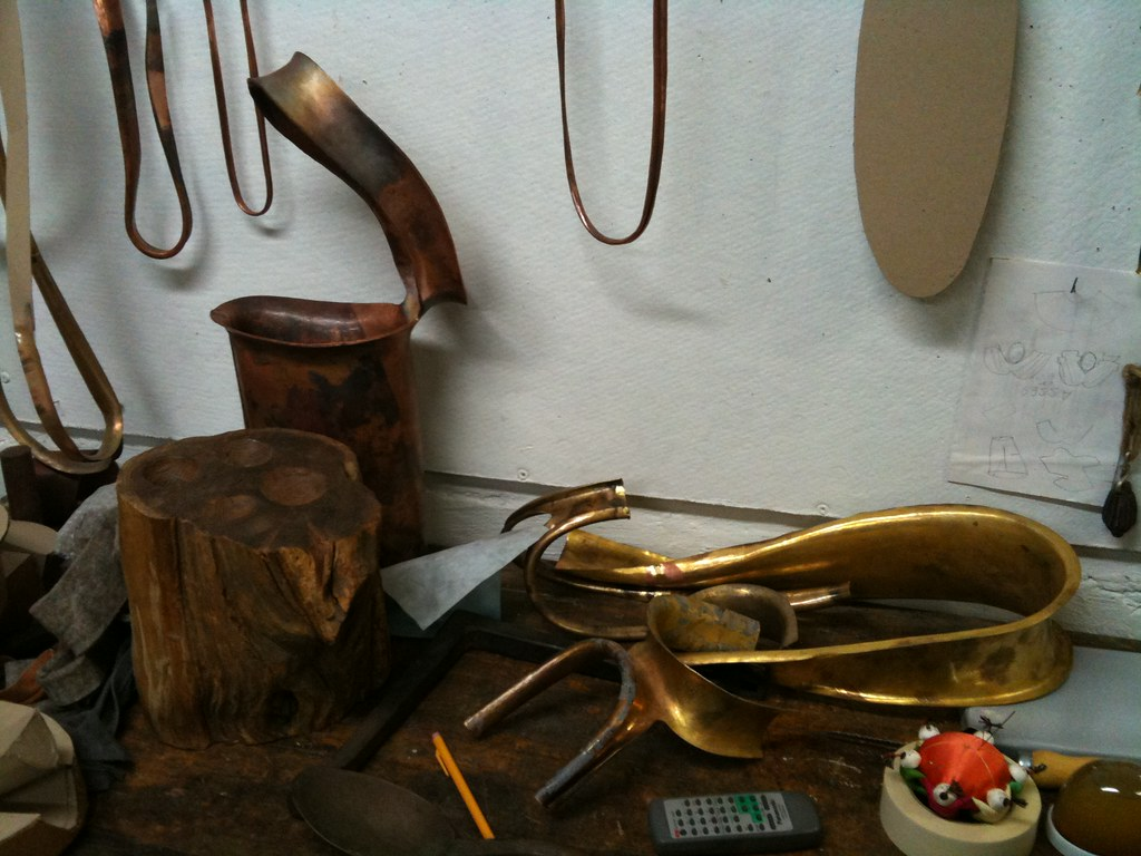 Myra's studio