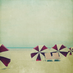 Almost summer (Kat...) Tags: beach belgium belgique sunshade parasol plage depanne beachumbrella lapanne