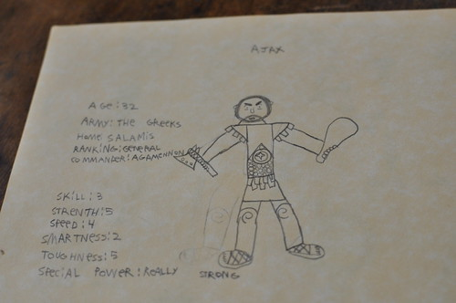 ajax character card