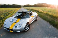 Lotus Elise S1 (Keno Zache) Tags: auto sunset car canon eos photoshoot lotus elise automotive s1 sportcar keno sportwagen 400d zache