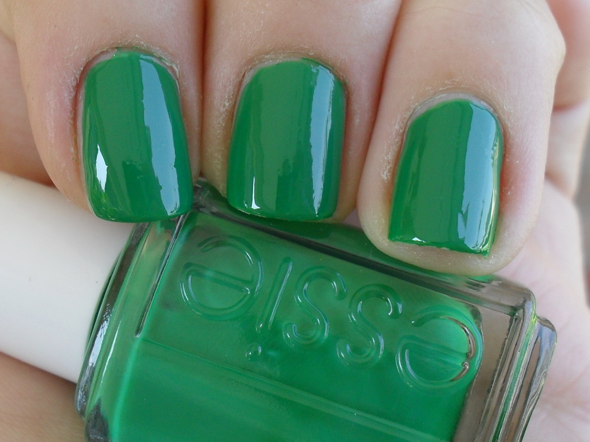 Lacquered, Painted, Polished: Three Essie Green Nail Polishes