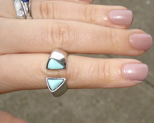 JewelMint Aqua Bomb ring