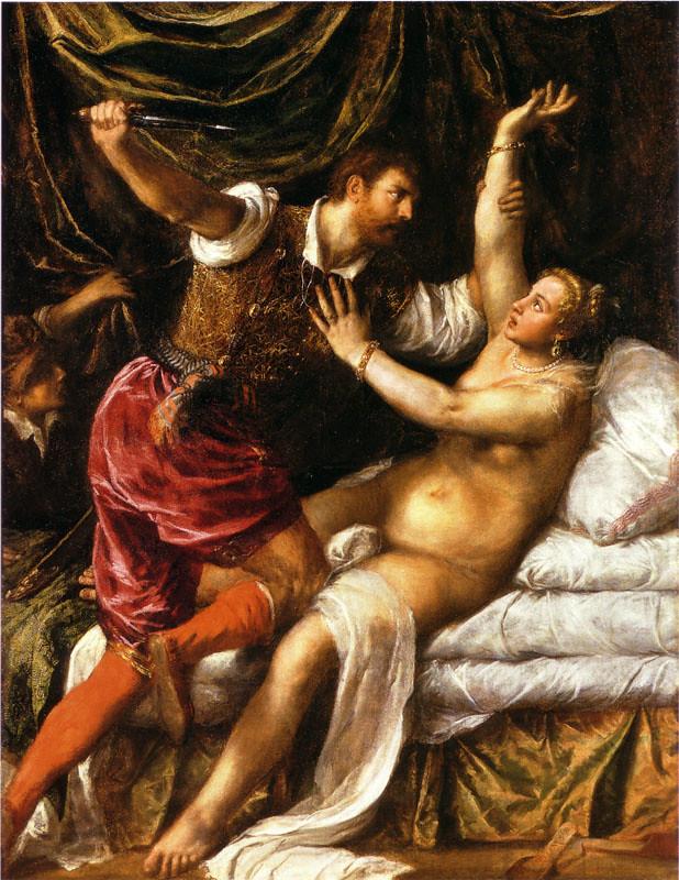 Giovanni Ricci dit Giampetrino - Tarquin et Lucrèce