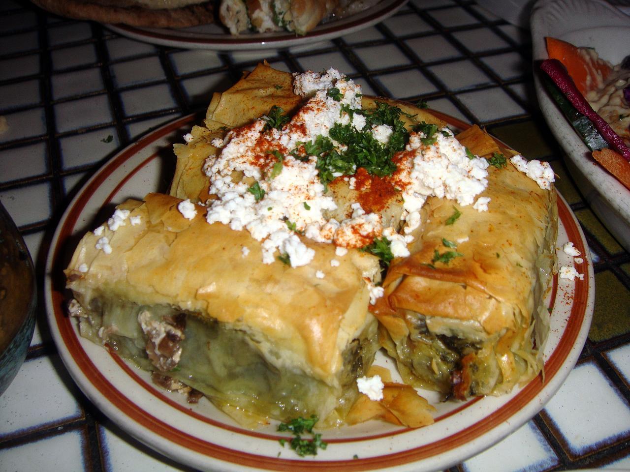 Grecian Spinach & Feta Fillo