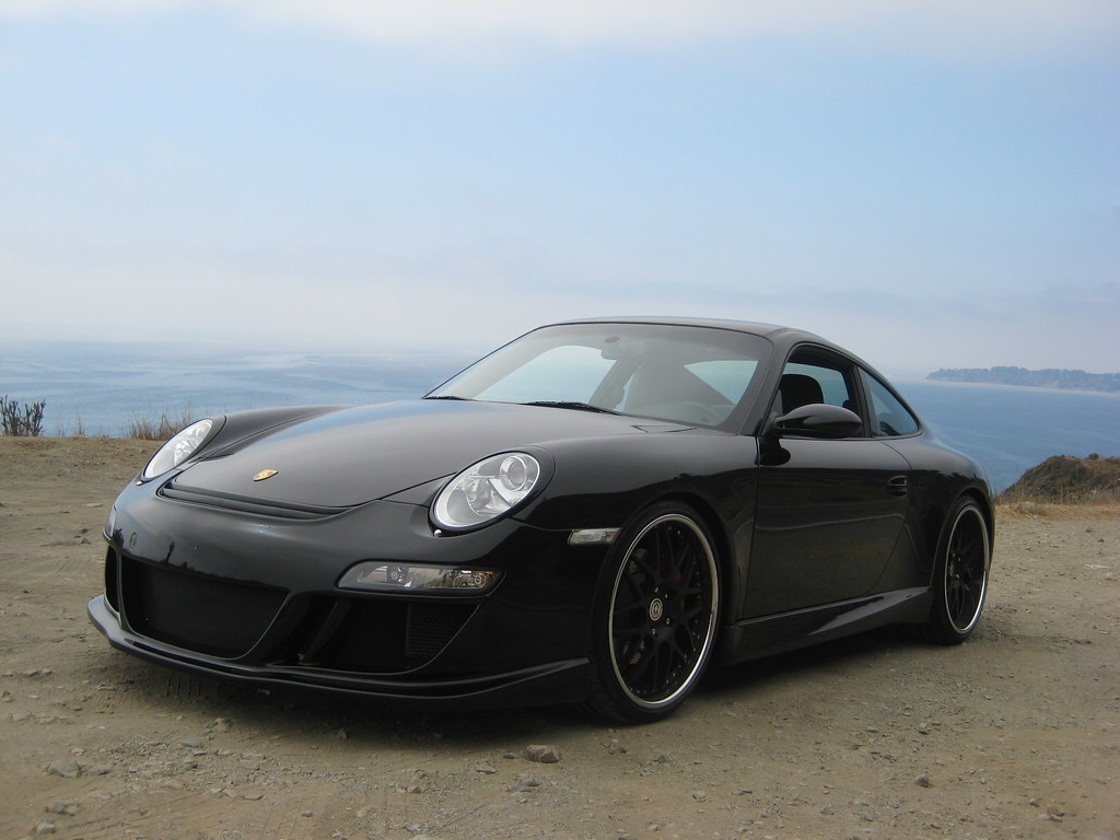 Feeler 2006 Carrera S Black Black Hre Wheels Ruf Front