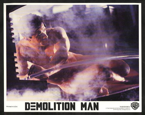 Sylvester stallone naked demolition man