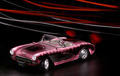 Day 15/365 (Timo Kirkkala) Tags: light lightpainting corvette toycar maglite bulbexposure chervrolet project3661