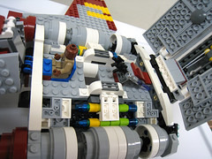 8019 Lego Republic Attack Shuttle- FINISHED (starstreak007) Tags: republic lego attack shuttle 8019