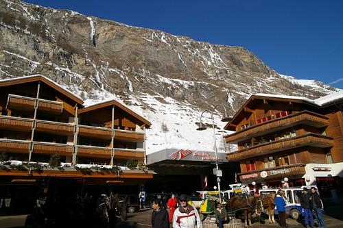 Zermatt車站